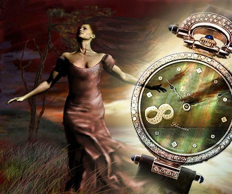 часы и магия