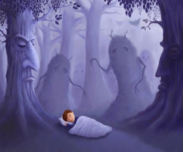 Отделение души от тела во время сна
