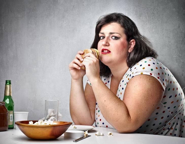лишний вес девушка