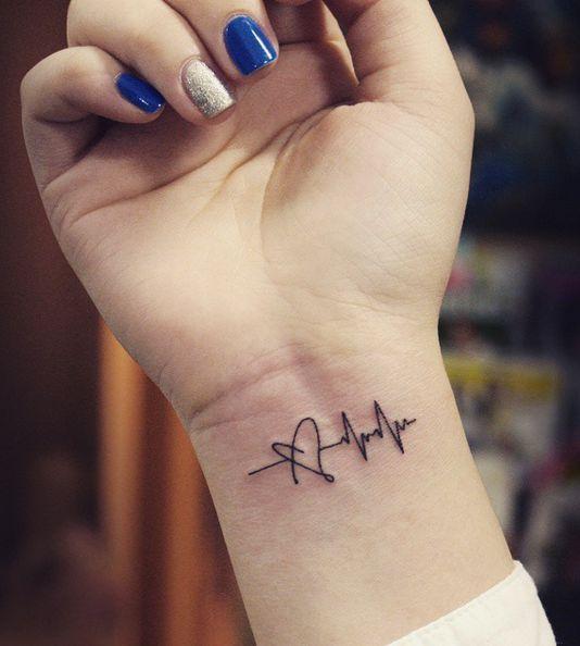 Татуировки на запястье девушкам