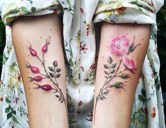 магические татуировки для девушек