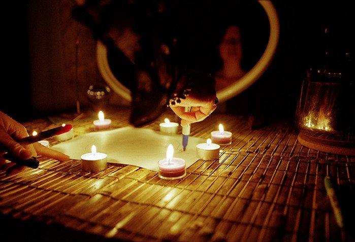 заклинание на свечах
