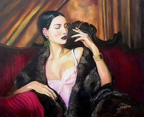 женщина вамп фото