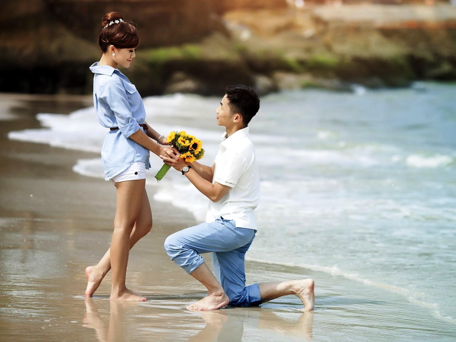 Как правильно признаться девушке в любви чтобы она не отказала