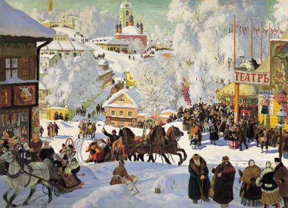 Как гадали на Руси на Святки