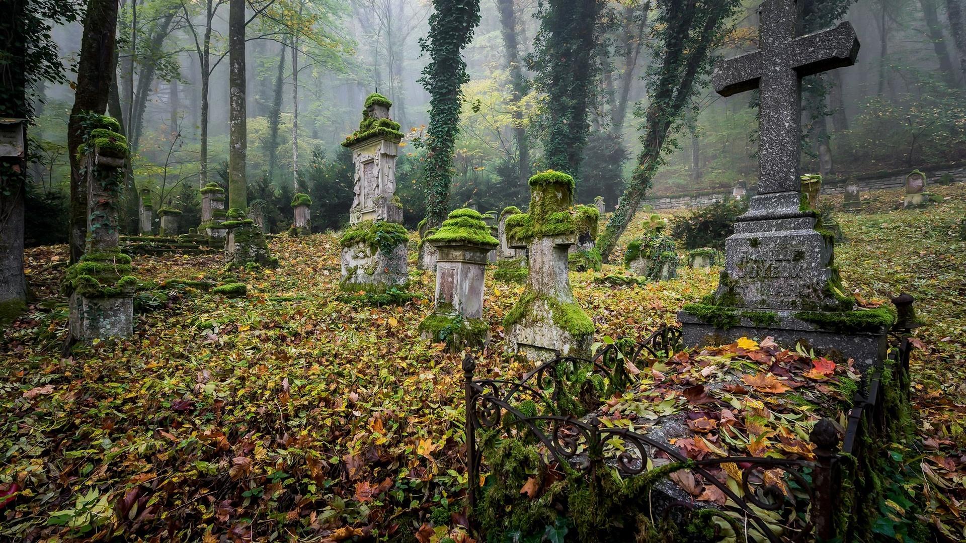 кладбище суеверия