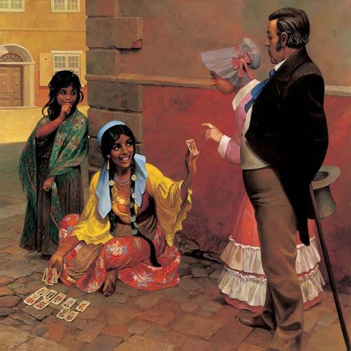 цыганские суеверия о богатстве