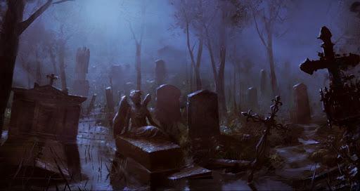 что нельзя делать на кладбище суеверия